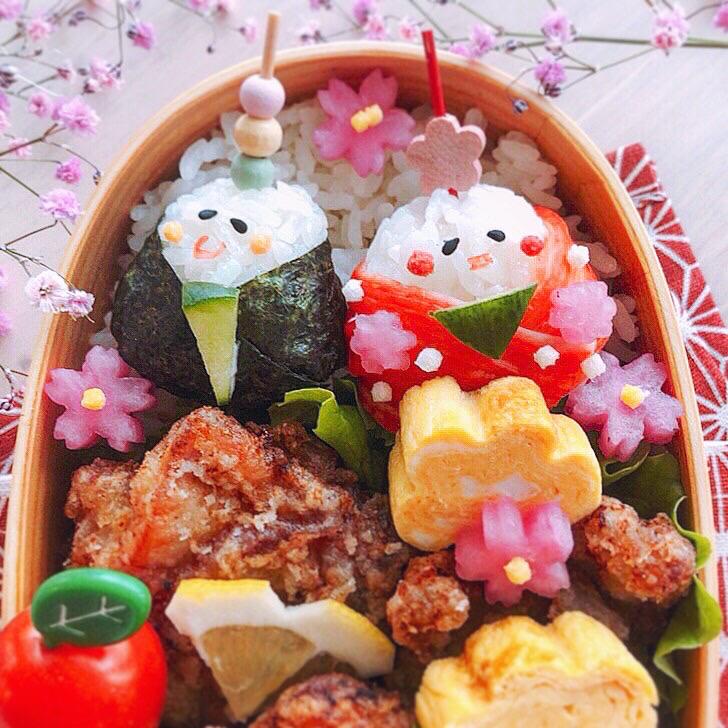 弁当 ひな祭り