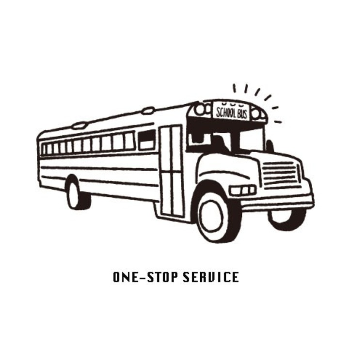 SCHOOL BUS|スクールバス空間設計の画像