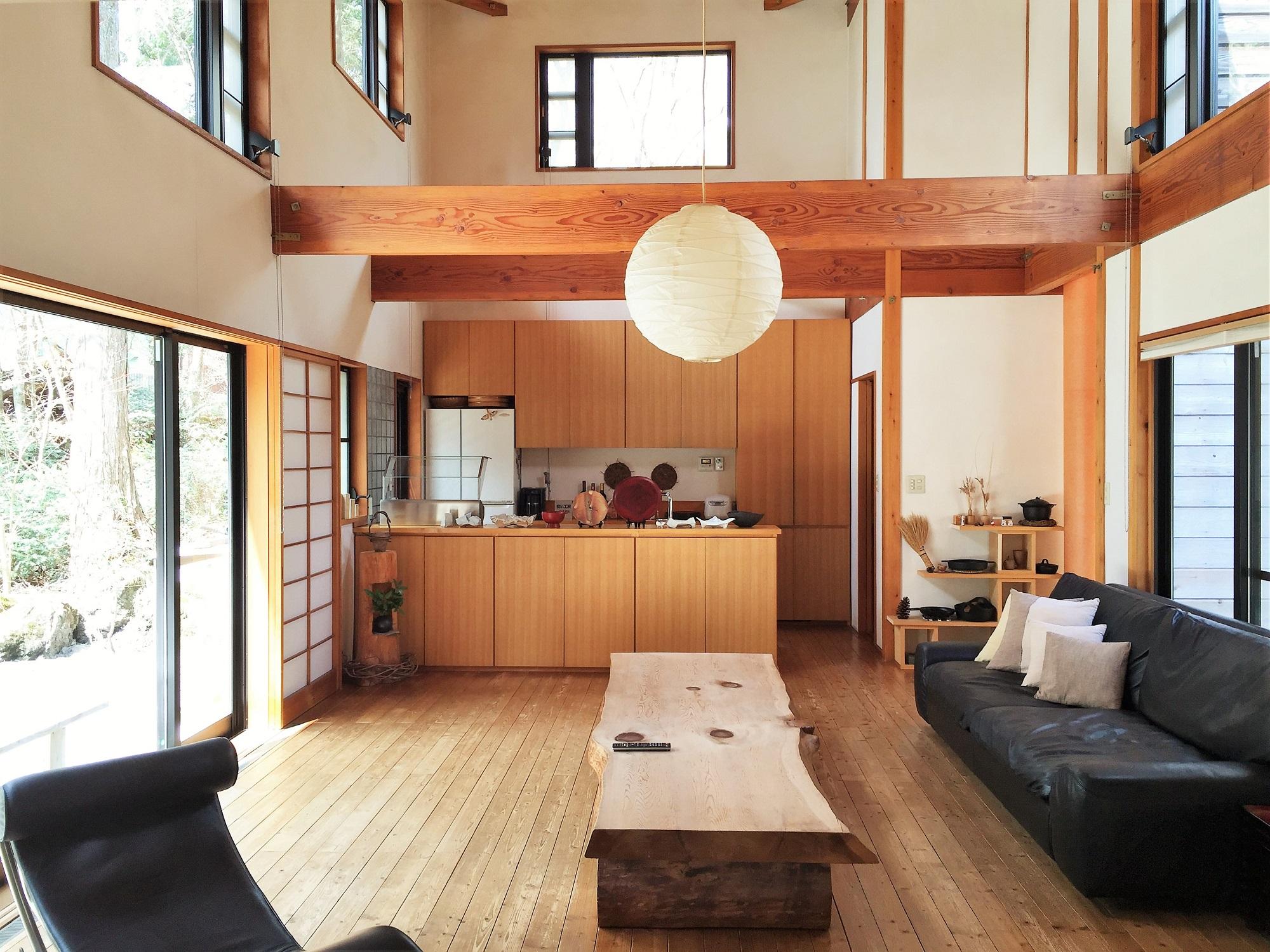 自然素材の家 別荘専門 探彩工房建築設計事務所の画像