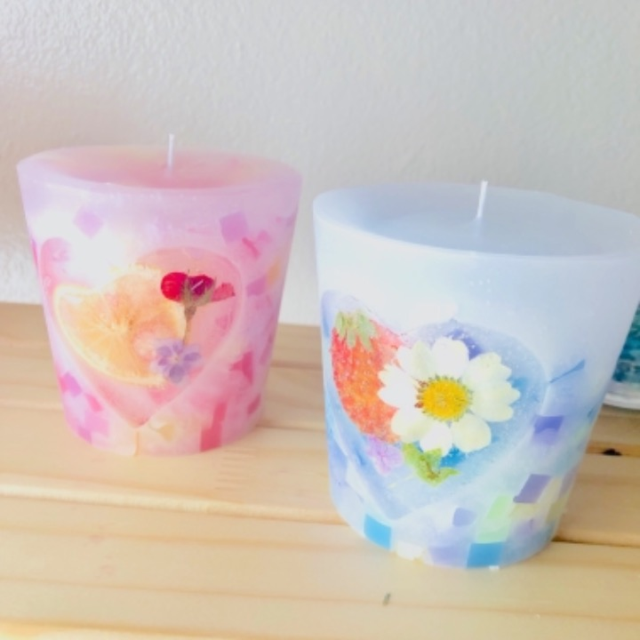 P candleの画像