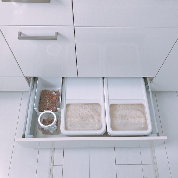 キッチン 収納 システム
