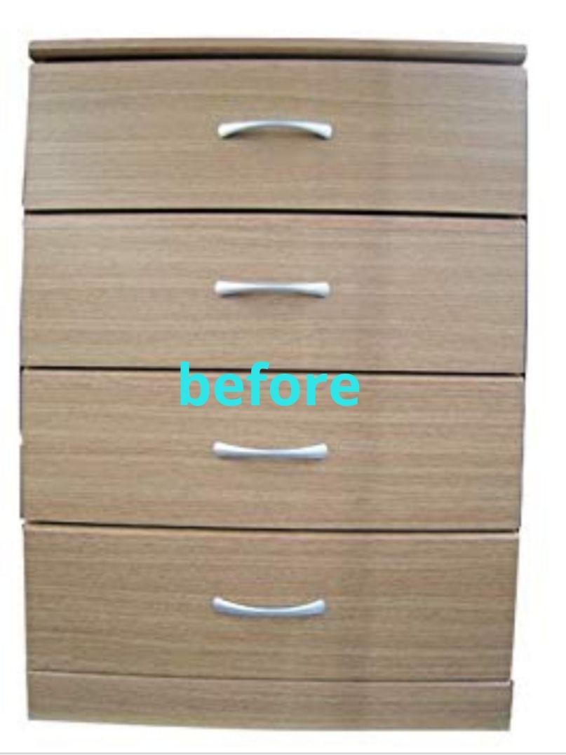 かわっくが投稿したフォト コーナンの組み立て家具にニトリのヘリンボーンのリメイクシート 19 11 30 09 09 00 Limia リミア