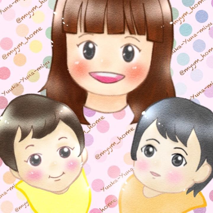 3姉妹双子ママ みぃの画像