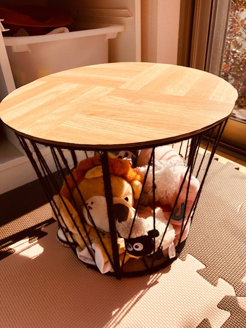 テーブル ダイソー サイド