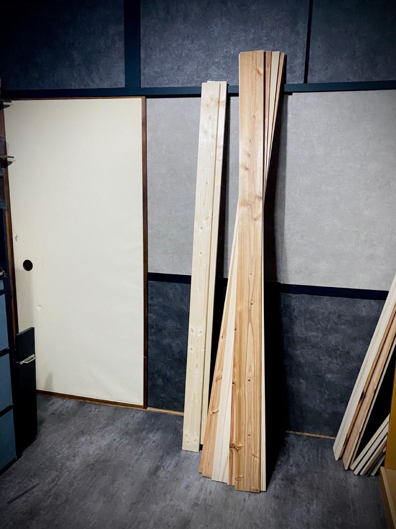 Sprが投稿したフォト 上の襖に続き 下の押入れの襖も貼り替え 左の出入り口の 07 11 11 30 02 Limia リミア