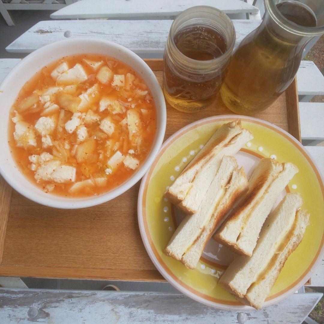 チーズ 豆腐 キムチ