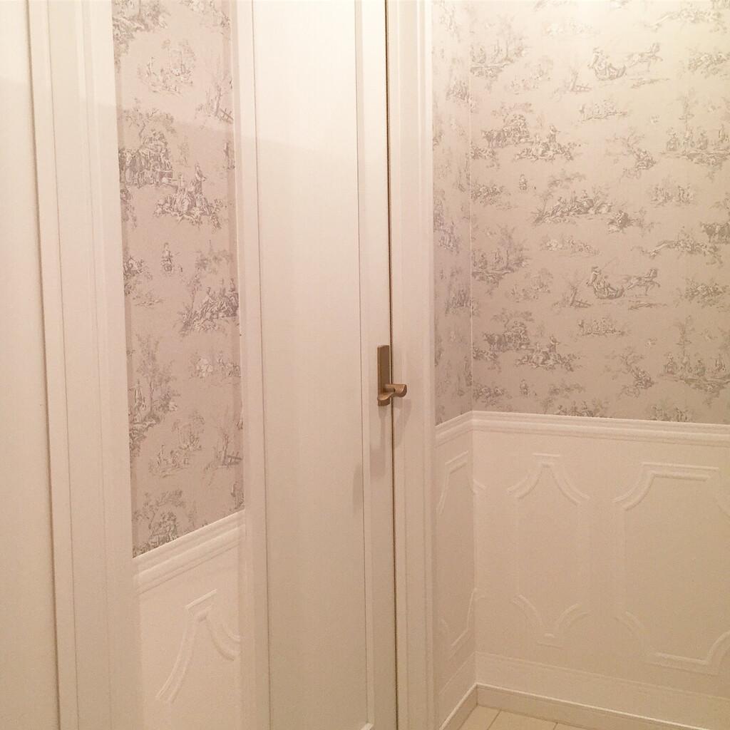 Riccoが投稿したフォト 2階の廊下は落ち着いたジュイの壁紙を 18 06 15 08 57 23 Limia リミア