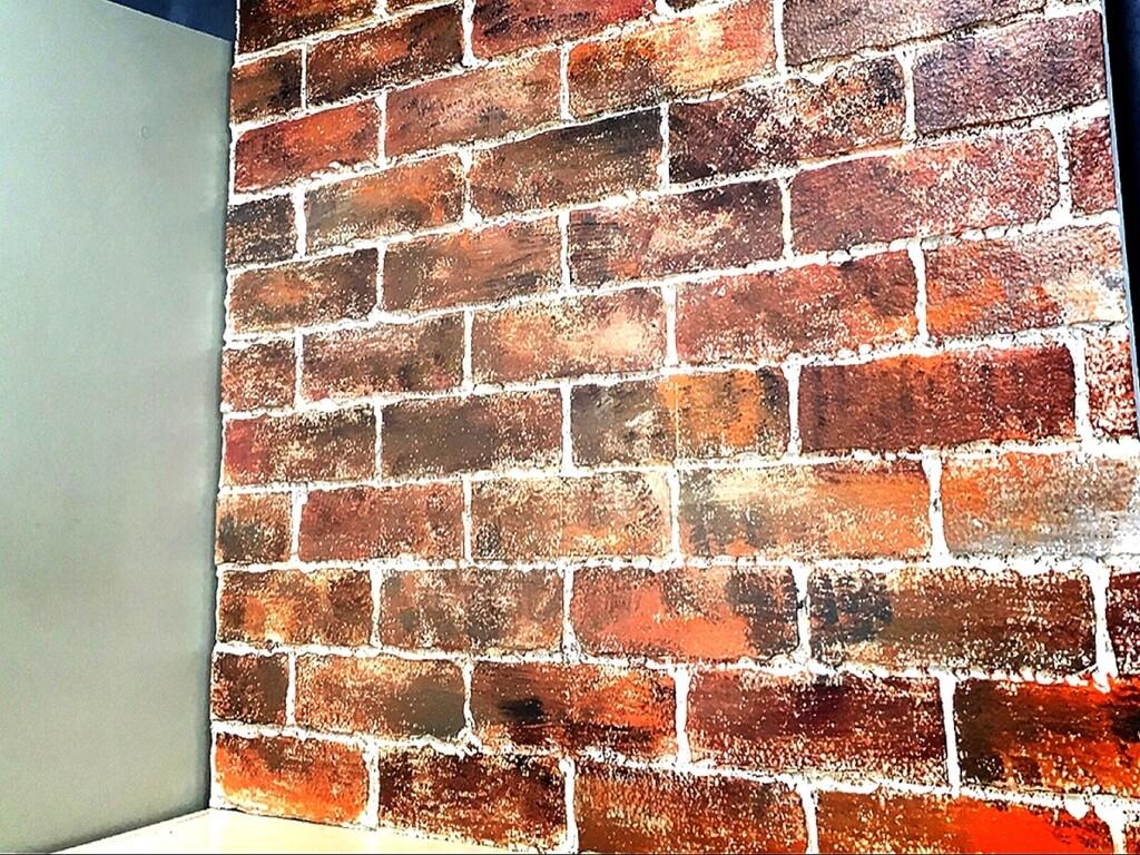 Diy 100均発泡スチロールを使ったレンガ壁のアイデア実例5選 Limia