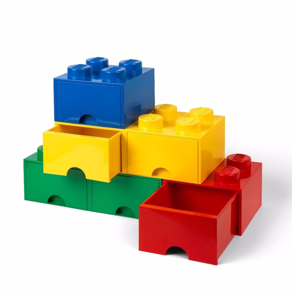 Legoブロックを可愛く綺麗に、そして効率よく収納できる優れたストレージボックスに、新しく引き出しタイプが新発売