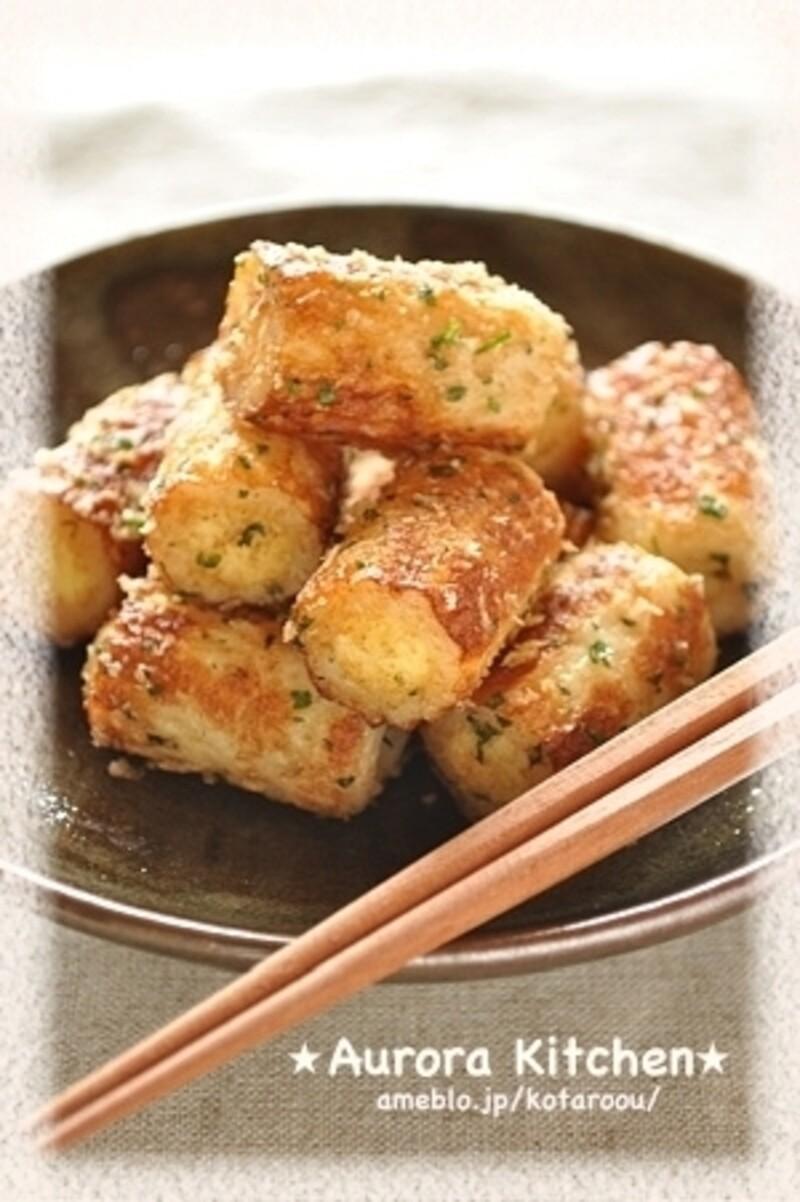 大葉が爽やかに香る♪チーズちくわのカリカリパン粉焼き. レシピブログ
