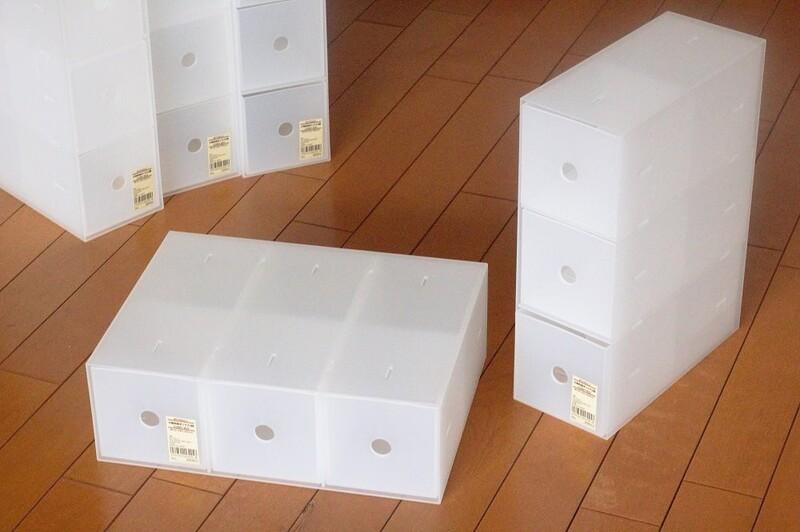 無印良品のポリプロピレン小物収納ボックス3段って?