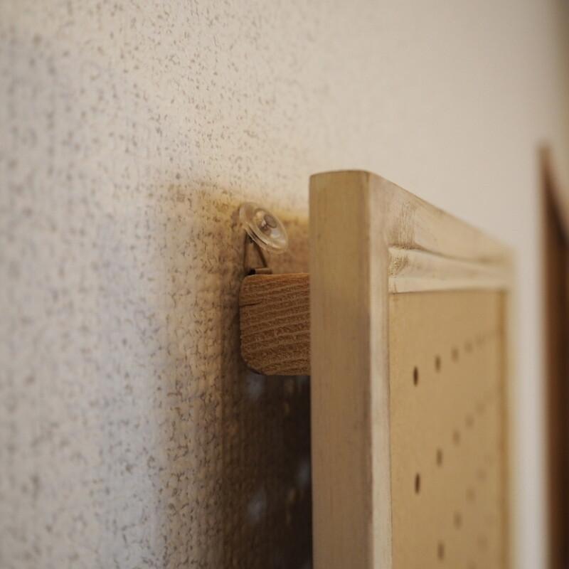 有 孔 ボード 壁 固定