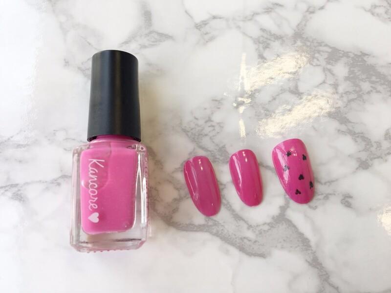 《カンコレ水性ネイルカラー ピンク》