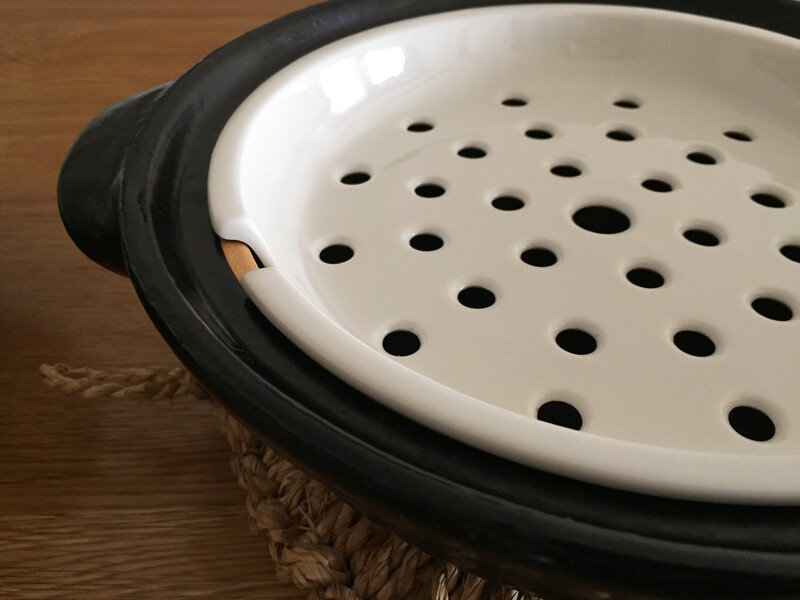 【無印良品】瀬戸焼 土鍋用蒸し皿