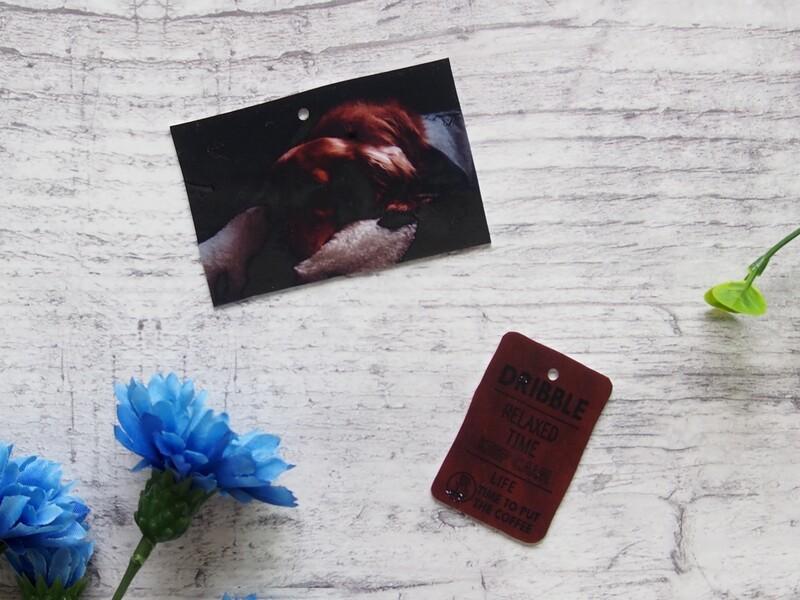 ダイソー写真を印刷できるプラ板でキーホルダー作りlimia リミア