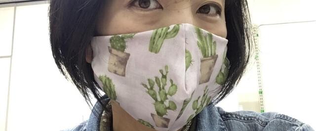 の マスク あさ 作り方 イチ