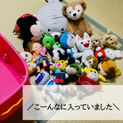 おもちゃ入れ/トイボックス/ニトリ購入品/キッズ収納/ぬいぐるみ収納/おもちゃ収納/... 《最強のおもちゃ箱》  こんなにも便利て…(8枚目)