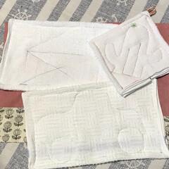 ぞうきん/掃除/ハンドメイド ぞうきん縫ってみました。 可愛く出来たん…(2枚目)