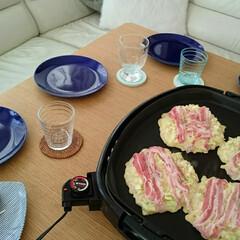 お好み焼き/LIMIAごはんクラブ/わたしのごはん/おうちごはんクラブ 昨日のお昼ごはんはお好み焼きにしました♪…
