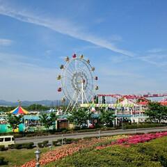 遊園地/令和の一枚/おでかけ/旅行/風景/わたしのGW GWは小さな遊園地に行ったんですが、子供…