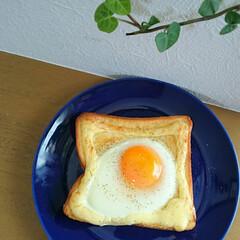 手作り/ラピュタパン/食パンアレンジ/食パンレシピ/フォロー大歓迎/ごはん/... 今日の朝ごはんはラピュタパンにしました♪…