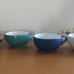 お皿/食器/白山陶器/スープ皿/スープカップ/リミとも部/... 愛用品のスープマグ。 白山陶器のもので、…