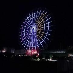 観覧車/東京/お出かけ/令和の一枚/フォロー大歓迎/旅行/... 夜のライトアップでイルミネーションがキレ…