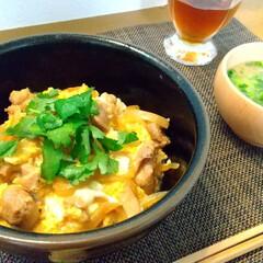 和食/節約料理/料理/おうちごはん/親子丼/晩ごはん 昨日の晩ごはんは子供たちのリクエストの親…