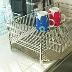 北欧食器/マリメッコ/マグカップ/食器 お気に入りのマリメッコのマグカップ。 水…
