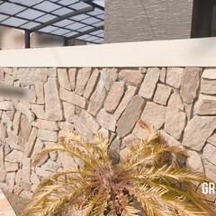 植栽デザイン/植栽/おうち時間の過ごし方/おうちリゾート/庭のある暮らし/外部空間デザイン・グラン/... ⋆˖弊社デザイン施工例˖⋆  天然石を贅…(1枚目)