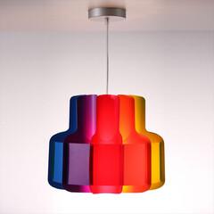 Lujan+Sicilia/Ban.../照明/ランプ/カラフル/サスペンションライト/モダン レトロモダンでアイコニックなデザインのシ…