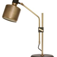 Bert Frank/バートフランク/テーブルランプ/レトロ/インダストリアル 無数の小さな穴から心地よい光を提供してく…