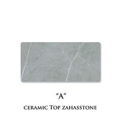 セラミック天板/ザハストーン/a/ネオス/セラミックプレート/カラーサンプル セラミック天板の色柄、ザハストーン色(A…(1枚目)