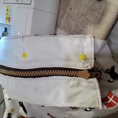 マザーズバッグ/ハンドメイド 今度はマザーズバッグを。 ファスナー付き…(2枚目)