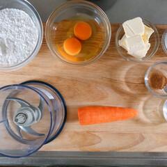 クックフォーミー エクスプレス(210レシピ内蔵)CY8511JP | ティファール(電気圧力鍋)を使ったクチコミ「電気圧力鍋でにんじんケーキ⸜(๑⃙⃘˙꒳…」(2枚目)