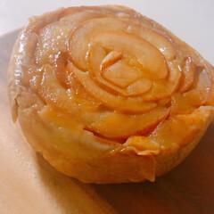 キッチン/キッチン家電/電気圧力鍋/電気圧力鍋おすすめ/電気圧力鍋のある生活 クックフォーミーで タタン風林檎ケーキを…(6枚目)