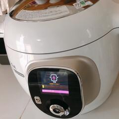 クックフォーミー エクスプレス(210レシピ内蔵)CY8511JP | ティファール(電気圧力鍋)を使ったクチコミ「電気圧力鍋でにんじんケーキ⸜(๑⃙⃘˙꒳…」(3枚目)