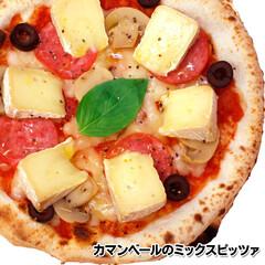 簡単/時短/冷凍食品/ピザ/冷凍ピザ/通販/... スペシャル🍕【カマンベールのミックスピッ…(1枚目)