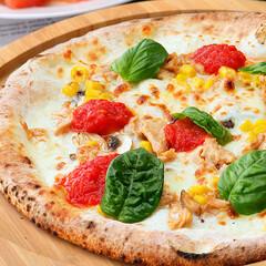 簡単/時短/冷凍食品/ピザ/通販/お取り寄せ/... お子様向け🍕【バンビーノ】本格冷凍ナポリ…(1枚目)