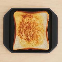 朝ごはん/BBQ/バーベキュー/パン/トーストアレンジ/トースト/... ─────────────── カリッふ…(1枚目)
