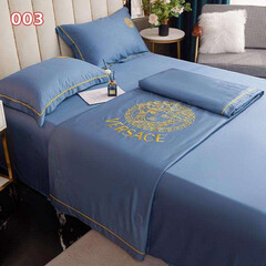 寝具セット/刺繍入り Versace 純色 刺繍入り 寝具セッ…(1枚目)