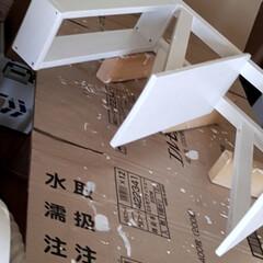 棚/洗面所/バス/作業部屋/ハンドメイド/DIY/... 洗濯機横のデッドスペースを有効活躍しよう…(4枚目)