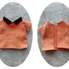 リカちゃんの洋服 チクチク縫いました💡 けれど後ろが…足り…(1枚目)