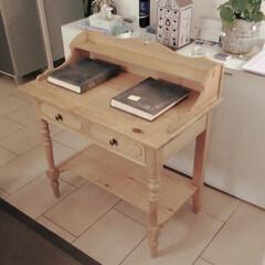 Wickeltisch/Changing table/おむつ交換台/リフォーム/インテリア/ハンドメイド お義父さんが、夫が赤ちゃんの頃に使ってた…