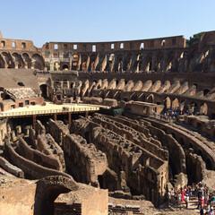 コロッセオ/ローマ/イタリア/おでかけ 【コロッセオ】  一度は行ってみたかった…