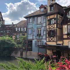 フランス/コルマール/France/Colmar 土曜日にフランスのコルマールに4年ぶりに…