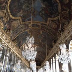 France/フランス/château de Versai.../鏡の間/ベルサイユ宮殿/おでかけ 【ベルサイユ宮殿•鏡の間】  ベルサイユ…