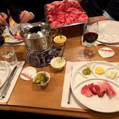 Schweiz/スイス/フォンデュシノワーズ/フード/グルメ/おでかけ 【フォンデュシノワーズ】 スイスの冬料理…