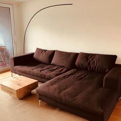Wohnzimmer/リビング/インテリア/家具/住まい 先ほどの記事のテレビの真逆の空間ですね。…