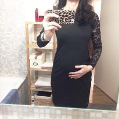 H&M/マタニティドレス/ファッション/おでかけ 【妊娠7ヶ月】 今日は夫の職場のクリスマ…